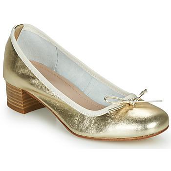 Sapatos Mulher Sabrinas André POEME Ouro