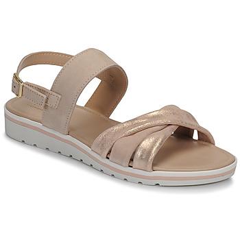 Sapatos Mulher Sandálias André POLINE Cru