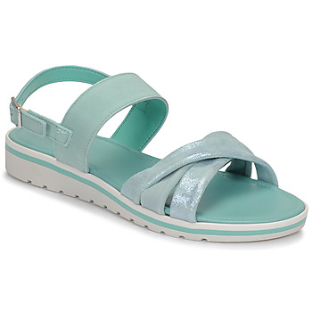 Sapatos Mulher Sandálias André POLINE Azul