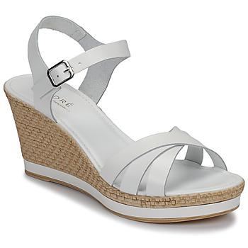 Sapatos Mulher Sandálias André MYRIAM Branco