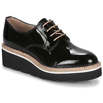 Sapatos Mulher Sapatos André EMELINA Preto / Verniz