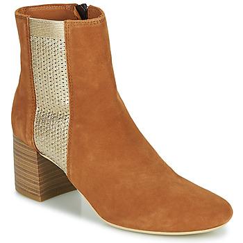 Sapatos Mulher Botins André BONNIE Camel