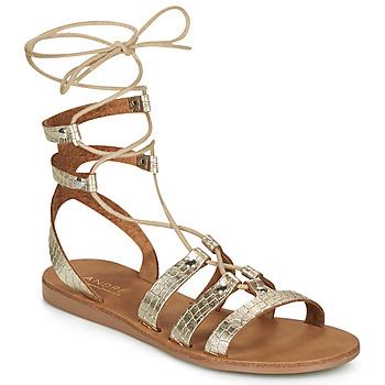 Sapatos Mulher Sandálias André BEA Ouro