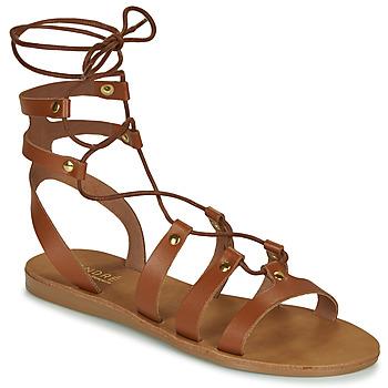Sapatos Mulher Sandálias André BEA Camel