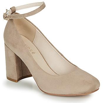 Sapatos Mulher Escarpim André LAURIA Bege