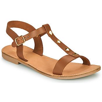 Sapatos Mulher Sandálias André DOMINOU Camel