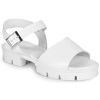 Sapatos Mulher Sandálias André ABRICOT Branco