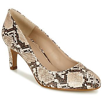 Sapatos Mulher Escarpim André POMARA 2 Bege