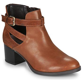Sapatos Mulher Botins André BETIANA Camel