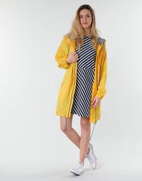 Textil Mulher Parkas Petit Bateau SHINE Amarelo