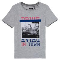 Textil Rapariga T-Shirt mangas curtas Ikks AMELIE Cinza