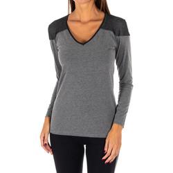 Textil Mulher Túnicas Rossoporpora Camiseta exterior m/larga Cinza