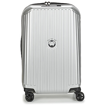 Malas Mala rígida Delsey SECURITME ZIP 55 CM 4 DOUBLE WHEELS TROLLEY Prateado