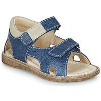 Sapatos Rapaz Sandálias Primigi 5410222 Azul / Cinza
