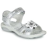Sapatos Rapariga Sandálias Primigi 5383533 Prata