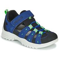 Sapatos Criança Sandálias desportivas Primigi 5371822 Azul / Preto