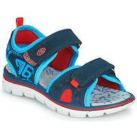 Sapatos Rapaz Sandálias Primigi 5392822 Marinho / Azul / Vermelho