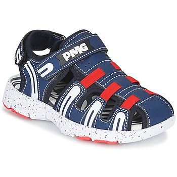 Sapatos Rapaz Sandálias desportivas Primigi 5461611 Marinho / Vermelho