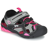 Sapatos Rapariga Sandálias desportivas Primigi 5460011 Preto / Rosa
