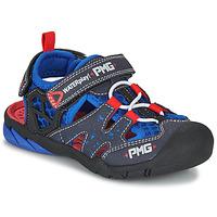 Sapatos Rapaz Sandálias desportivas Primigi 5460111 Azul / Vermelho