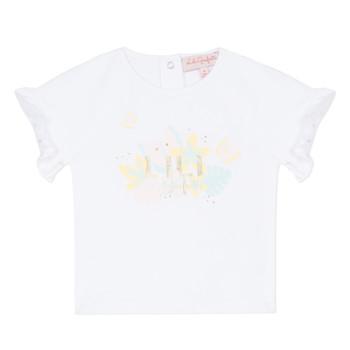 Textil Rapariga T-Shirt mangas curtas Lili Gaufrette NALIS Branco