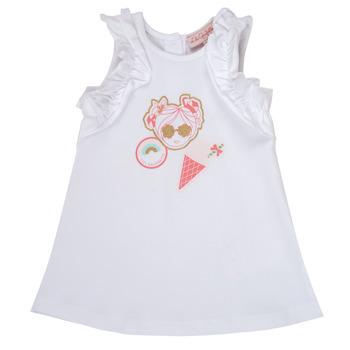 Textil Rapariga Vestidos curtos Lili Gaufrette NAVETTE Branco