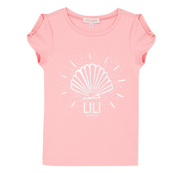 Textil Rapariga T-Shirt mangas curtas Lili Gaufrette CHADO Blush