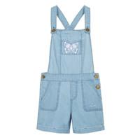 Textil Rapariga Macacões/ Jardineiras Lili Gaufrette FATIA Azul