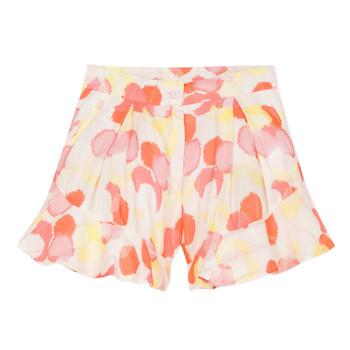 Textil Rapariga Shorts / Bermudas Lili Gaufrette FOLLIA Multicolor