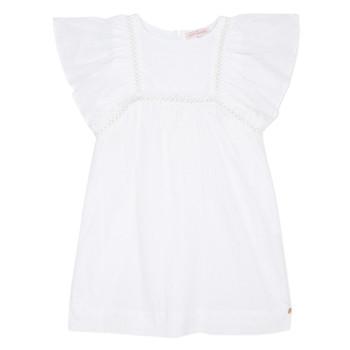 Textil Rapariga Vestidos curtos Lili Gaufrette MELINA Branco
