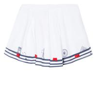 Textil Rapariga Saias Lili Gaufrette MAYA Branco