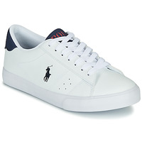 Sapatos Criança Sapatilhas Polo Ralph Lauren THERON Branco