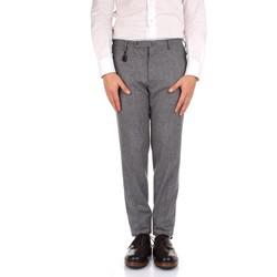 Textil Homem Calças Incotex 1AT091 1721T Cinza