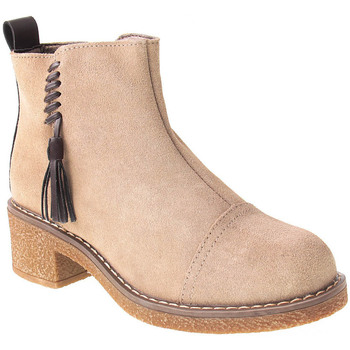 Sapatos Mulher Botins Zapzap L Boot Lady Taupe