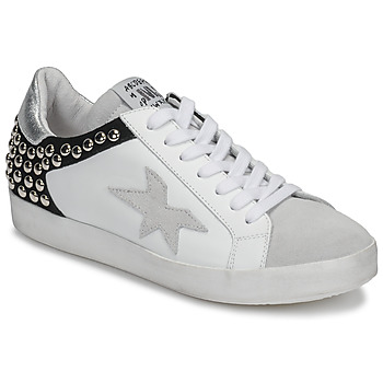 Sapatos Mulher Sapatilhas Meline GELLABELLE Branco / Preto