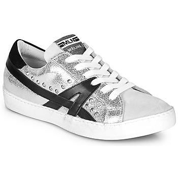 Sapatos Mulher Sapatilhas Meline GELOBELO Prata