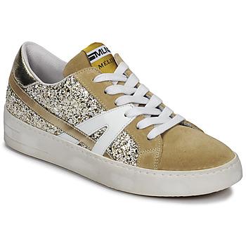 Sapatos Mulher Sapatilhas Meline GERIE Ouro