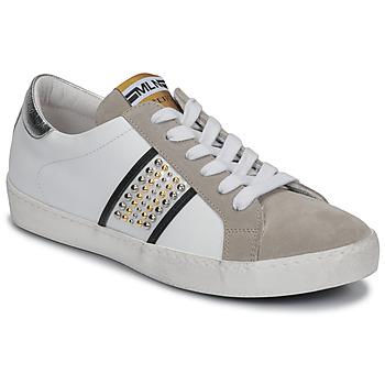Sapatos Mulher Sapatilhas Meline GARILOU Branco / Bege