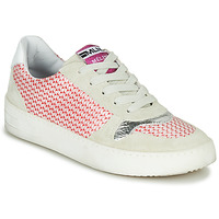 Sapatos Mulher Sapatilhas Meline GUILI Bege / Vermelho
