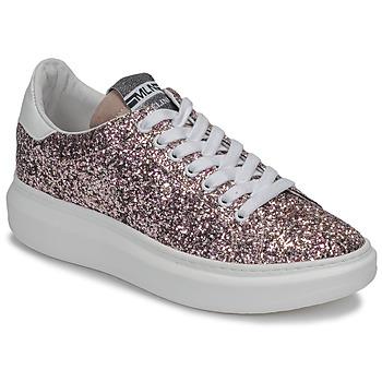 Sapatos Mulher Sapatilhas Meline GEYSI Glitter / Rosa