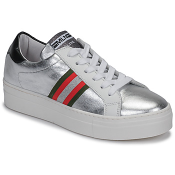 Sapatos Mulher Sapatilhas Meline GETSET Prateado