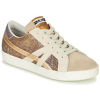 Sapatos Mulher Sapatilhas Meline GALLI Ouro