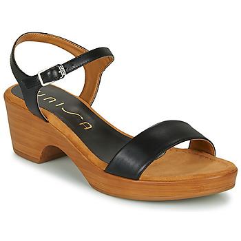 Sapatos Mulher Sandálias Unisa IRITA Preto