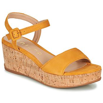 Sapatos Mulher Sandálias Unisa KOME Amarelo