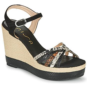 Sapatos Mulher Sandálias Unisa MIRELLA Preto