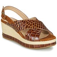 Sapatos Mulher Sandálias Unisa KASTRO Camel