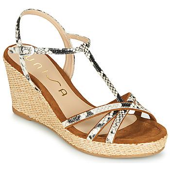 Sapatos Mulher Sandálias Unisa LLINAR Castanho