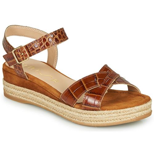 Sapatos Mulher Sandálias Unisa GRANADA Camel
