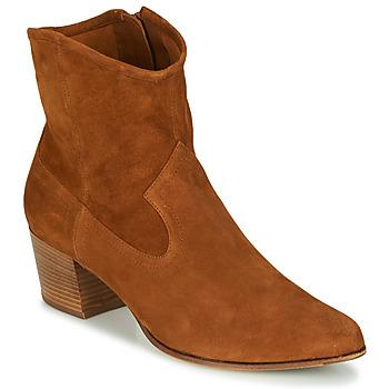 Sapatos Mulher Botins Unisa GALVEZ Camel
