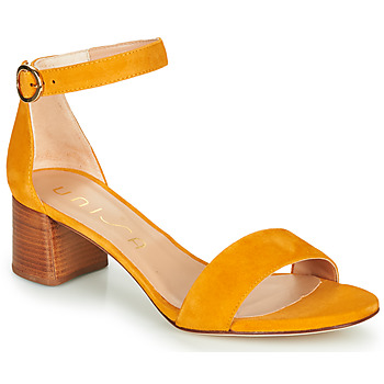 Sapatos Mulher Sandálias Unisa GELETE Amarelo
